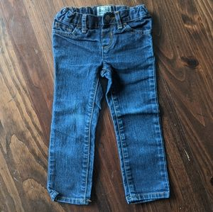 Toddler girl skinny stretch jeans